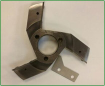 Precision Turned Carbide Tipped Panel Shaper Cutters